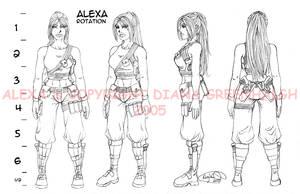 Alexa Rotation by mechangel2002