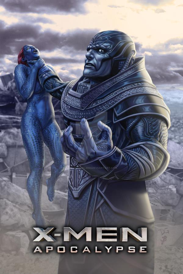 Official X-Men: Apocalypse Movie Poster by mechangel2002