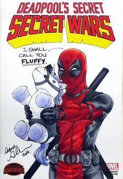 Deadpool Agnes Parody sketch cover