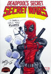 Deadpool Agnes Parody sketch cover