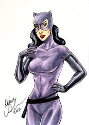 Catwoman sketch card by mechangel2002