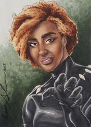 Rule 63 Black Panther PSC by mechangel2002