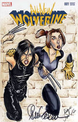 Fan Expo Steven Gordon X-23 + Shadowcat colours