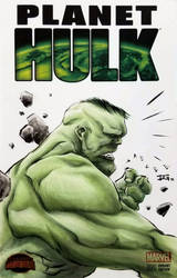 Calgary Expo 2018 Jae Lee Hulk colours