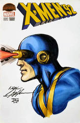 Calgary Expo 2018 Neal Adams Cyclops colours