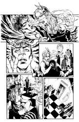 Guinevere and the Divinity Factory 1 page 6 inks by mechangel2002