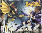 Scott McDaniel Batgirl Huntress sketch colours by mechangel2002