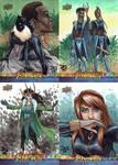Avengers Infinity War sketch cards by mechangel2002