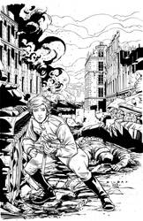 White Lily #3 cover inks by mechangel2002