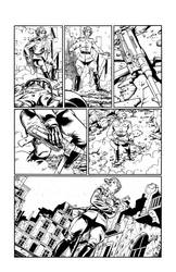 White Lily #3 page 9 inks