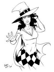 Classic 1960's Enchantress by mechangel2002