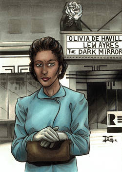 Viola Desmond flashcard art