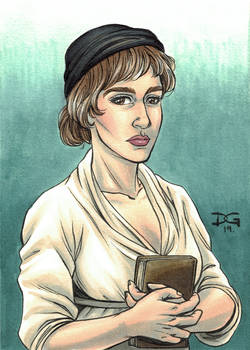 Mary Wollstonecraft flashcard art