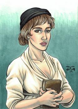 Mary Wollstonecraft flashcard art