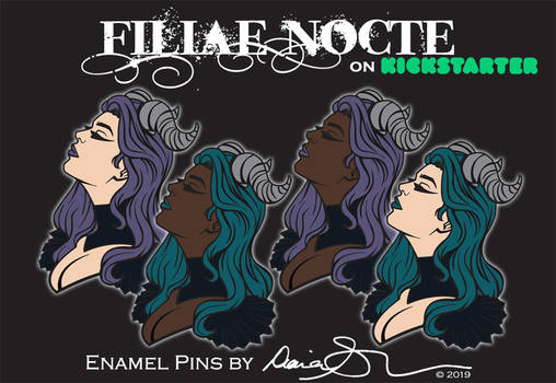 Filiae Nocte Series 1 on Kickstarter