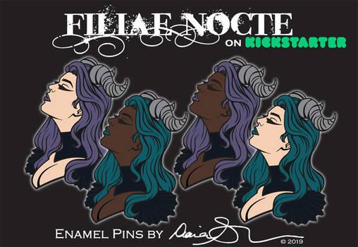 Filiae Nocte Series 1 on Kickstarter