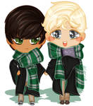 Scorbus Chibi (Redbubble Print Available!) by allarica