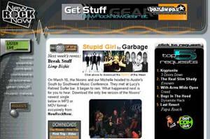 New Rock Now site screencap