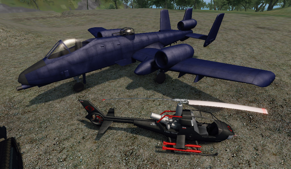 CobraAir 01 (CryEngine) by Rooster3D