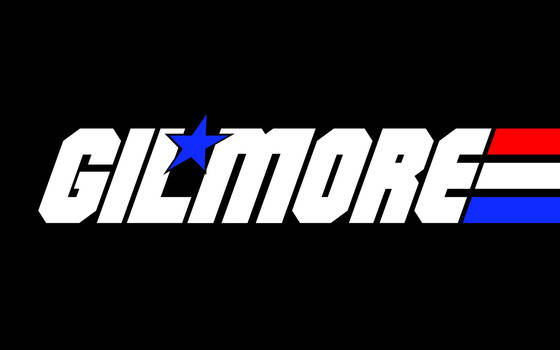 GILMORE GIJOE-style logo