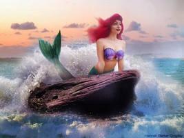 Ariel cosplay - the little mermaid