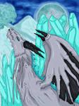 Ice Dragon by silvershadoww