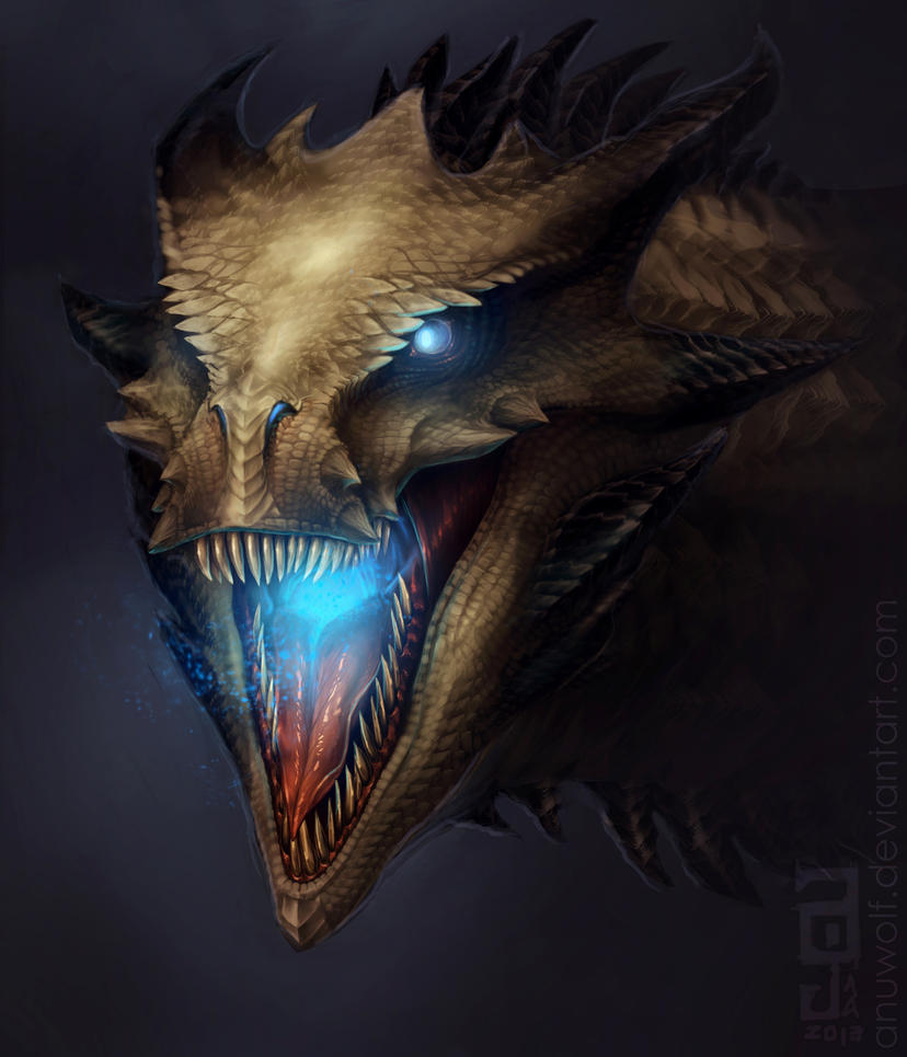 Wraith Dragon by Anuwolf
