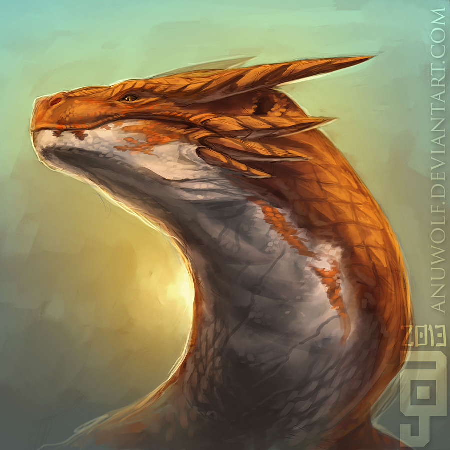 GhiDragon by Anuwolf