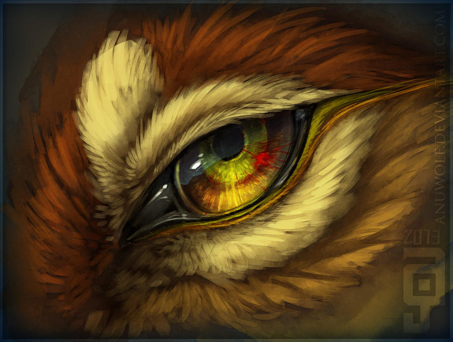 DeadEye by Anuwolf
