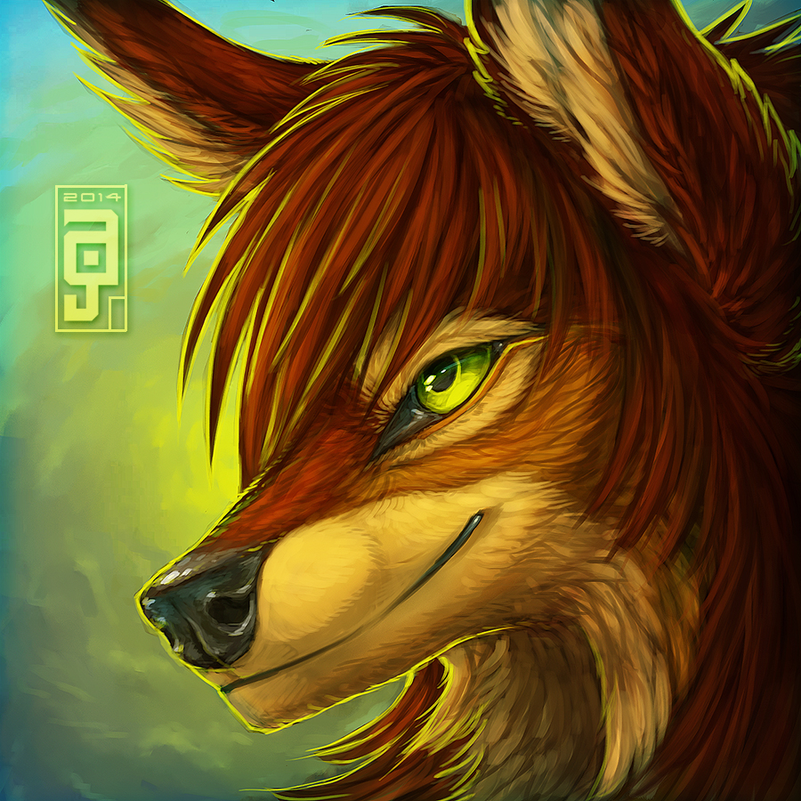 AnuPortrait by Anuwolf