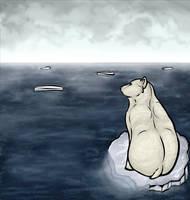 Poor Poor Polar Bear by Anuwolf