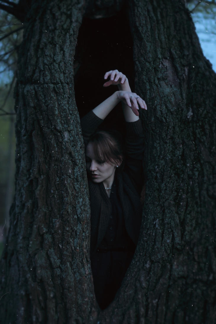 When you become a part of the tree by NatalieVing