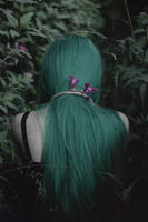 Green forest suicide by NatalieVing