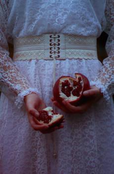 Crimson Mist. Pomegranate drops.