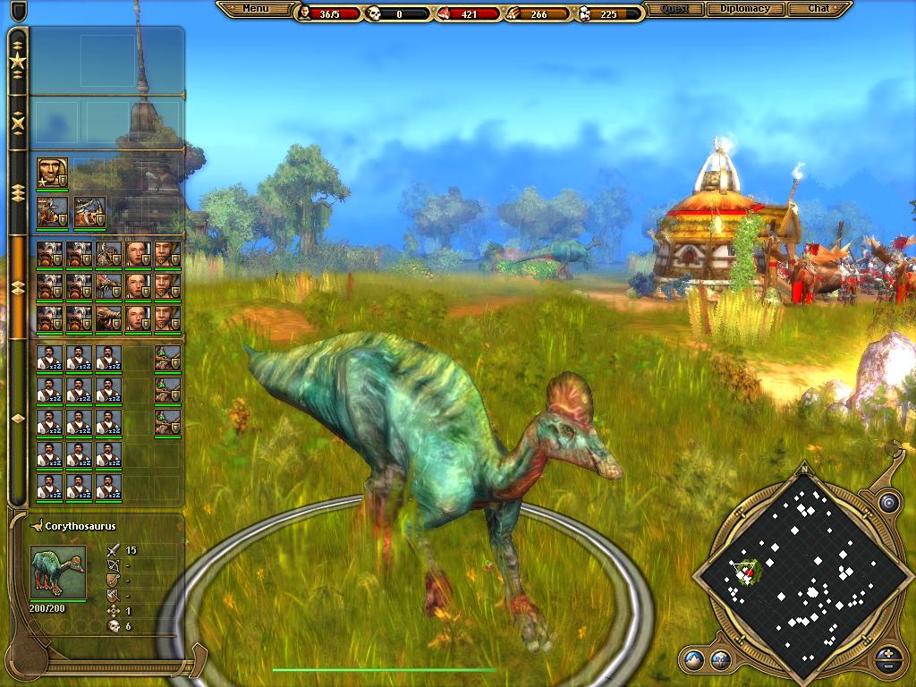 paraworld - Corythosaurus by Bleedingraptorclaw