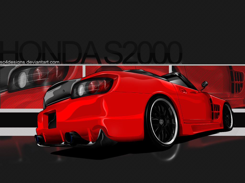 Honda S2000 Wallpaper By Sc4designs