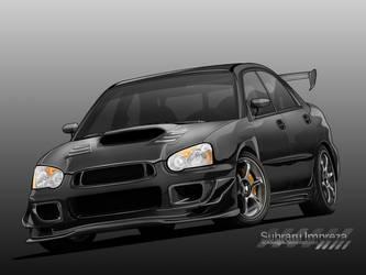 Subaru Impreza FINAL by sc4designs