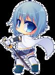 Sayaka Chibi by ThanatosRising