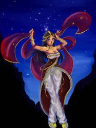 Dancer by schigera