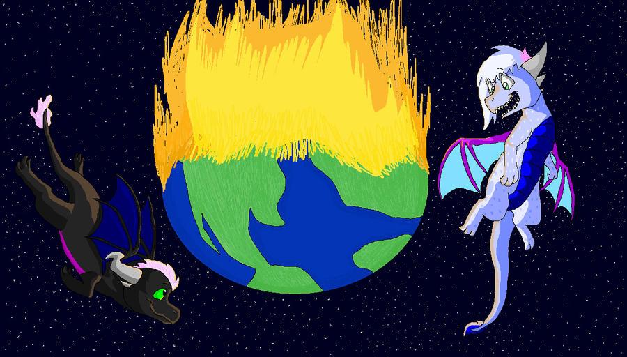 Set the world on fire by Neilikkaa