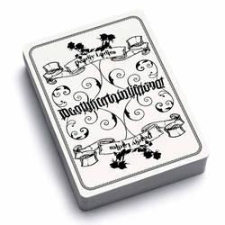 Deadly Ladies Card Series Ambigram Back