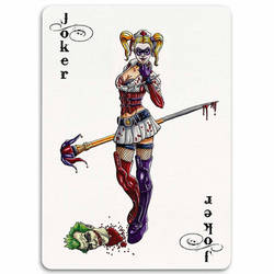 Deadly Ladies Card Series Joker