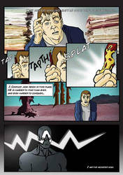 Graphic Novel Page1 by manbehindthemachine