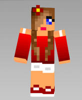 My Christmas Skin by WaterElement33