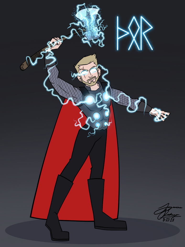 Thor Odinson by WaterElement33