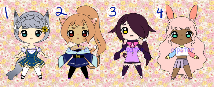 Kemonomimi Adoptables (Pay What You Want $5+!)