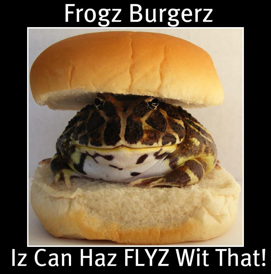 Frogz Burgerz by PaganFireSnake