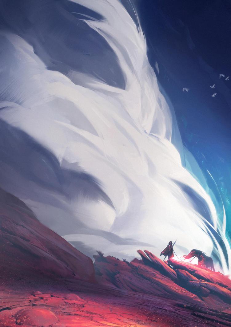 Red Rock Journey by MateuszMajewski