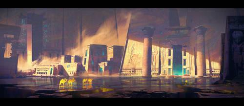 Temple by MateuszMajewski