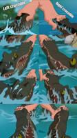 Fetish crocodiles